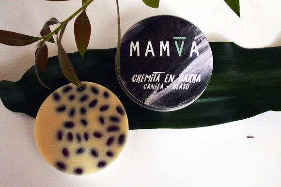 Crema en barra Canela Clavo - Mamva