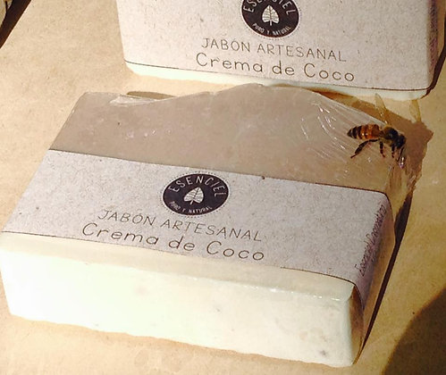 Jabón Leche de Coco 120gr. - Esenciel