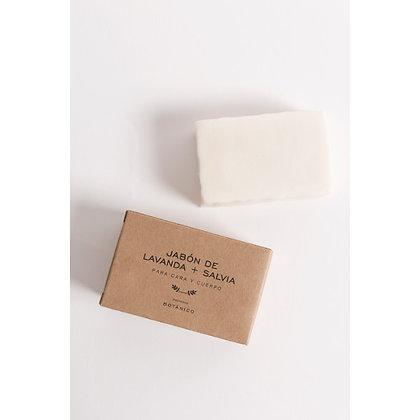 Jabón Lavanda + Salvia 160 gr