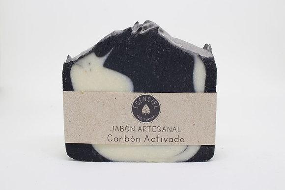 Jabón Carbón Activado 120gr. - Esenciel