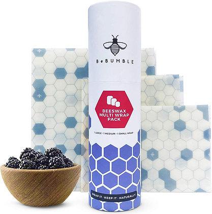 Kit Envolturas re utilizables de cera de abeja
