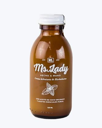 Crema hidratante de hierbabuena 120 ml.