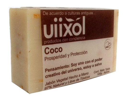 Jabón de Coco 100gr. - Uiixol