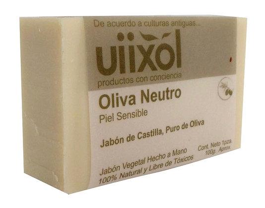Jabón de Oliva Neutro de Castilla   100gr. - Uiixol