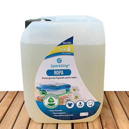 Jabón para Ropa Biodegradable 5lt. - Sparkling