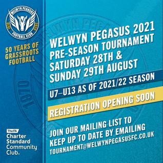 Welwyn Pegasus Pre-season Tournament 2021/22