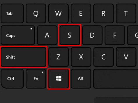Windows 10 Snipping Shortcut