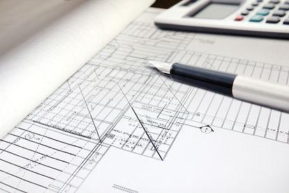 technical building plans