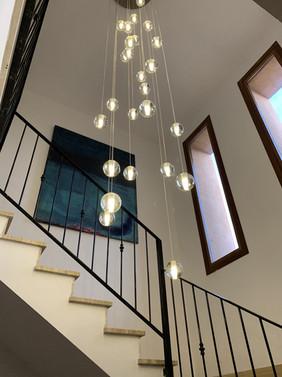 Stairwell lights