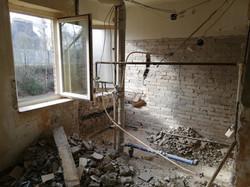 Sanierung Küche/Bad vorher