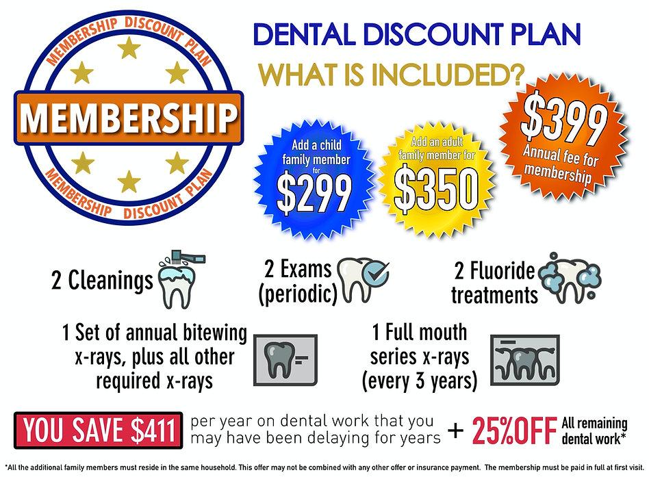 dental membership, dental discount plan, no insurace dentist, dentist in lancaster