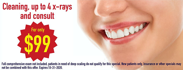 FREE CONSULTATION, CLEANING, X RAYS AND MORE FOR 99, CHEAP DENTAL CLEANING, FREE CONSULT, HALLOWEEN SPECIAL