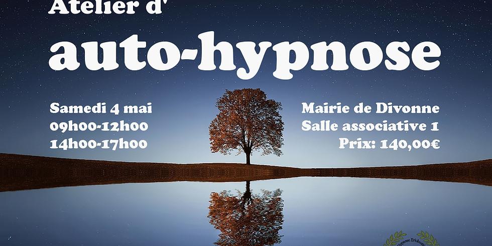 Atelier d'auto-hypnose samedi 4 mai à Divonne 01220