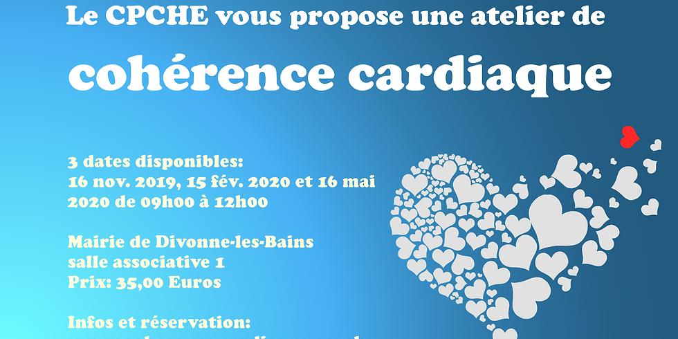 Ateliers de cohérence cardiaque à Divonne, 01220