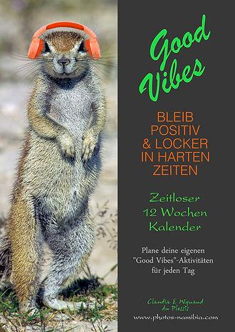 Good Vibes - Zeitloser 12 Wochen Kalender