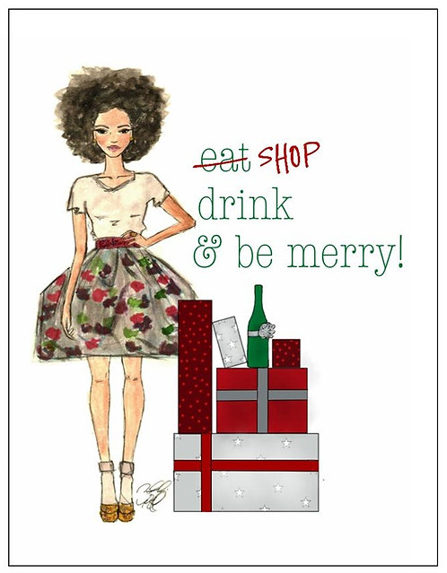 SHOP, Drink, Be Merry- SOLD OUT!