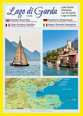 Lake Garda printed maps
