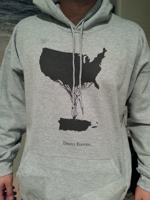 Men's Deeply Rooted Hoodie- NO TEXT
