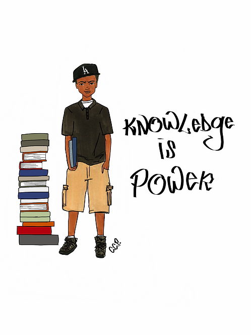 Knowledge is Power- Customizable