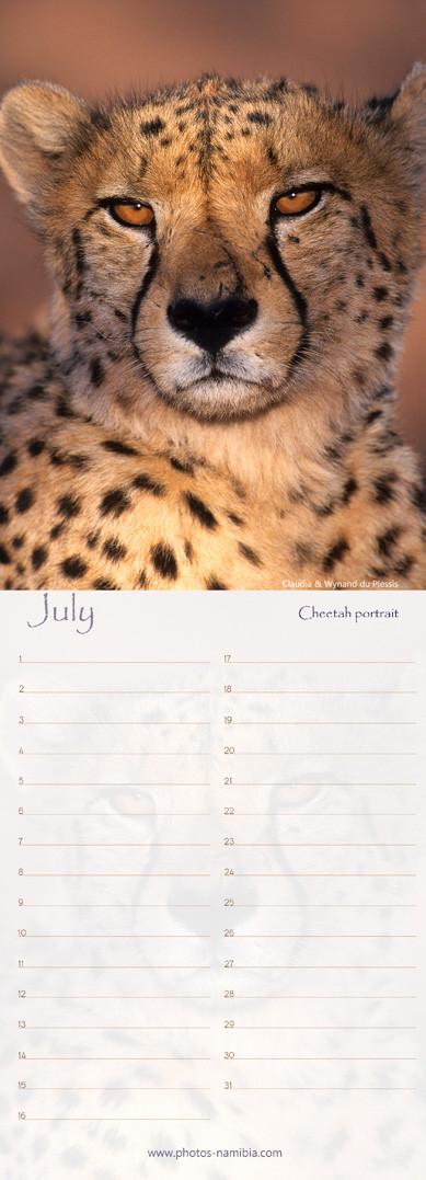 Birthday Calendar Namibia