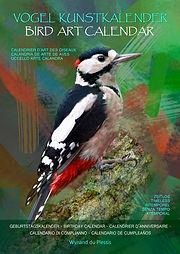 Bird Art Calender - Vogel Kunstkalender
