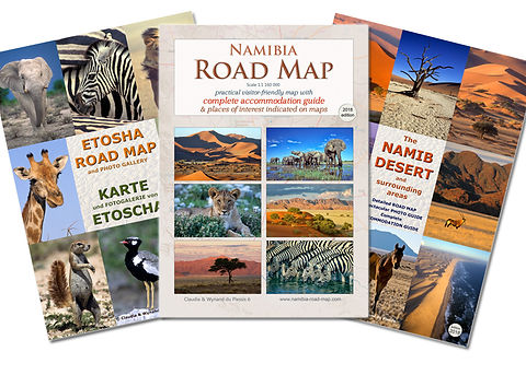 Namibia Map Set