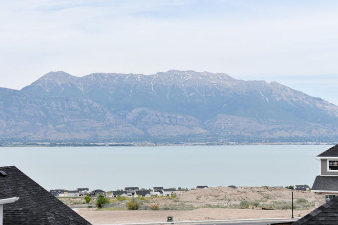 VIEW OF UTAH LAKE FROM BROOKLYN BALCONY