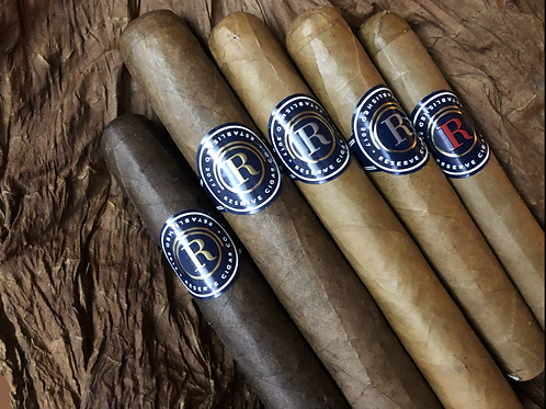5 Cigar Sample Pack