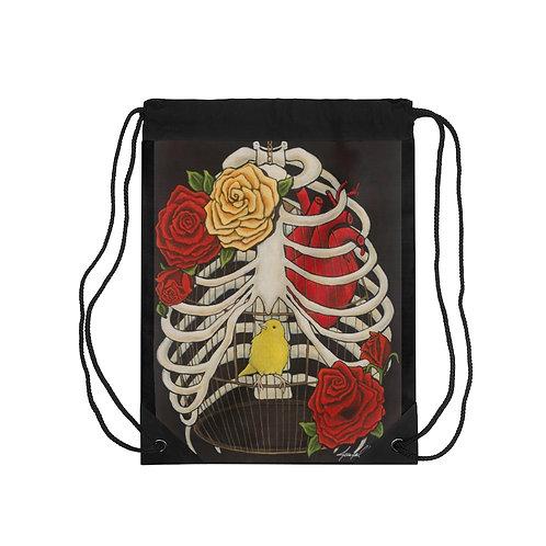"""""""DESIDERATA"""" Drawstring Bag"""