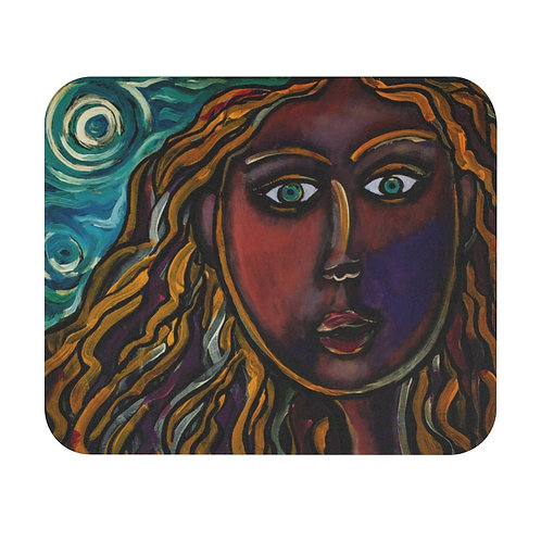 """""""Oh, Muse of My Heart"""" Mouse Pad (Rectangle)"""