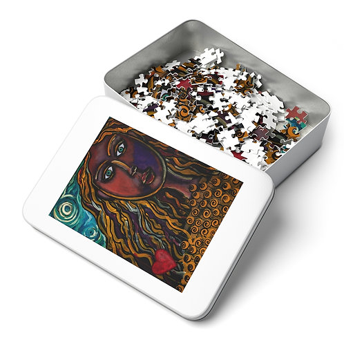 """""""Oh, Muse of My Heart"""" Jigsaw Puzzle (252, 500, 1000-Piece)"""
