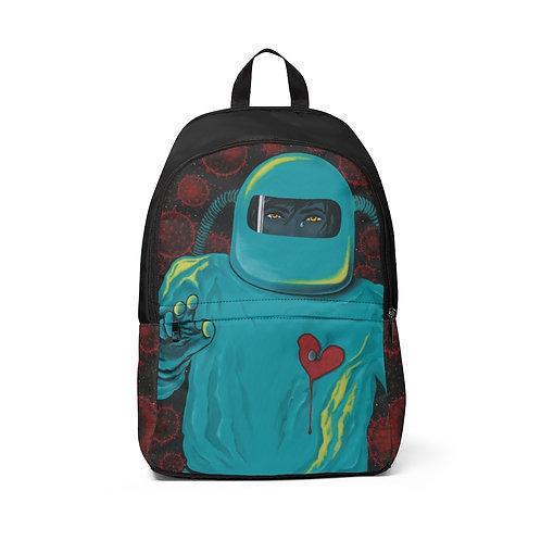 """SEPARATION"" Unisex Fabric Backpack"