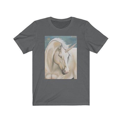 """MAGIC!"" Unicorn Unisex Jersey Short Sleeve Tee"