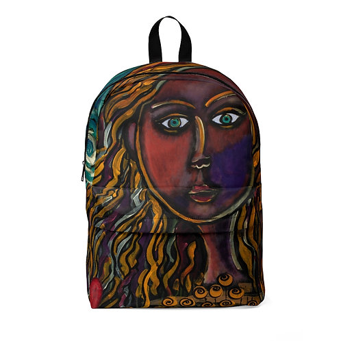 """""""Oh, Muse of My Heart"""" Unisex Classic Backpack"""
