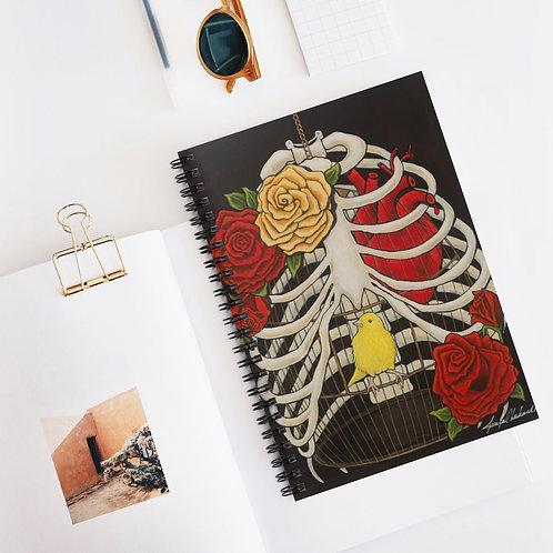 """DESIDERATA!"" Spiral Notebook - Ruled Line"
