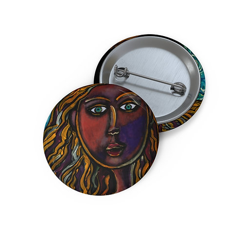 """""""Oh, Muse of My Heart"""" Custom Pin Buttons"""
