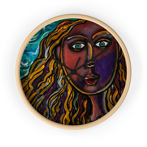 """""""Oh, Muse of My Heart"""" Wall clock"""