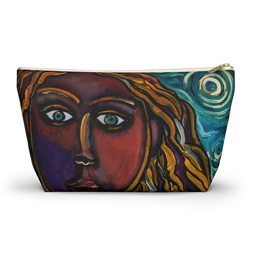 """""""Oh, Muse of My Heart"""" Accessory Pouch w T-bottom"""