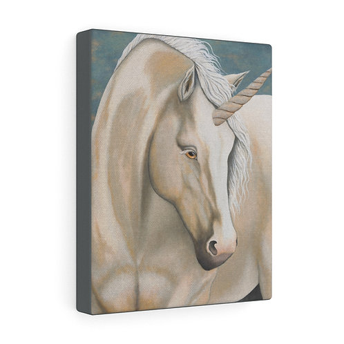 """MAGIC!"" Unicorn 8 x 10 Canvas Gallery Wrap"