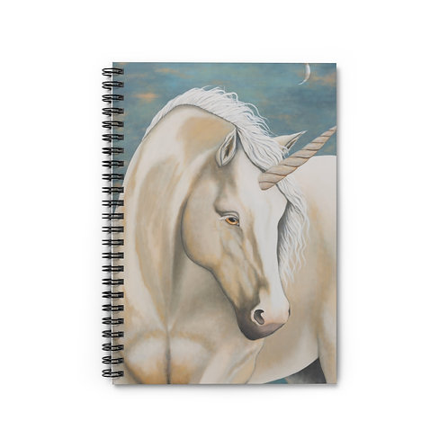 """MAGIC!"" Unicorn Spiral Notebook - Ruled Line"