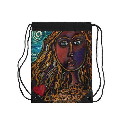 """Oh, Muse of My Heart"" Drawstring Bag"