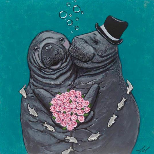 "Rosy The Manatee - Rosy & Oscar - ""You Make Me Blush!"""