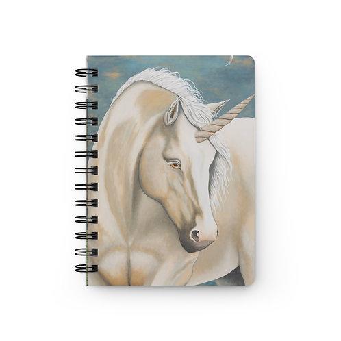 """MAGIC!"" Unicorn Spiral Bound Journal"