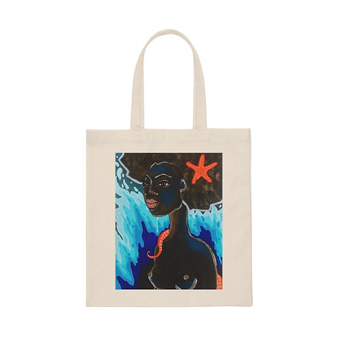 """""""STRENGTH"""" Canvas Tote Bag"""