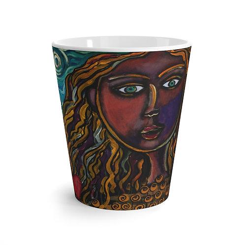 """Oh, Muse of My Heart"" Latte Mug"