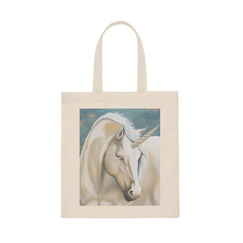 """MAGIC!"" Unicorn Canvas Tote Bag"