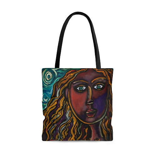 """""""Oh, Muse of My Heart"""" AOP Tote Bag"""