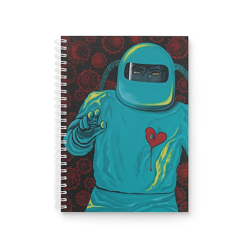 """""""SEPARATION"""" Spiral Notebook"""