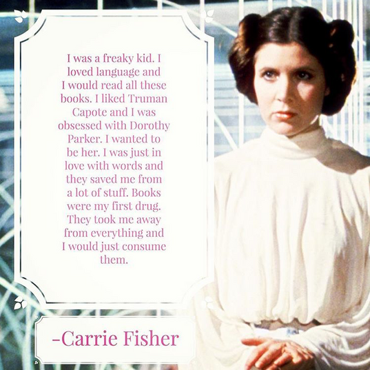 When I first saw Star Wars, I wanted to marry Luke Skywalker and be Princess Leia.