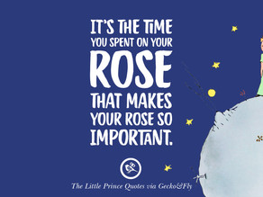 Smell the roses...